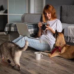 Cronavirus o Covid 19 : E' pericoloso per il mio cane o il mio gatto?